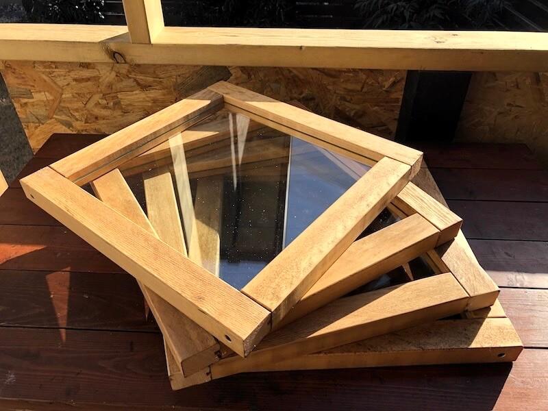 ガラス窓DIY 完成