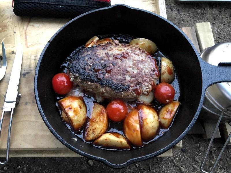 チーズinハンバーグ 調理5