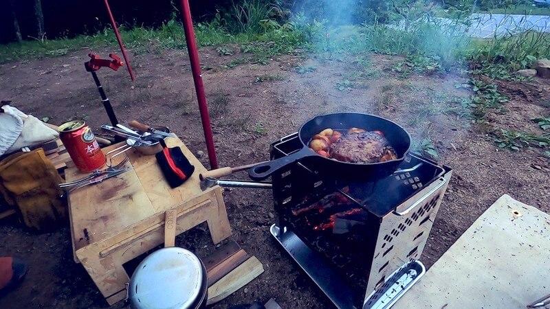 チーズinハンバーグ 調理6