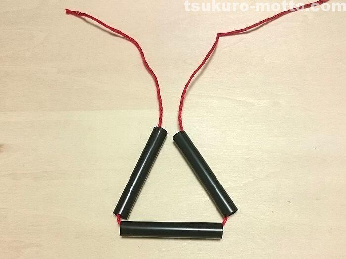 ダイヤのヒンメリの作り方2