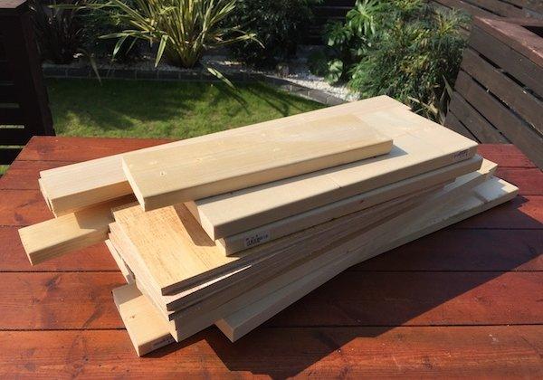 木箱木材の選びかた