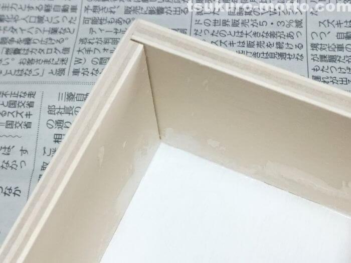 木箱の角の塗り方3