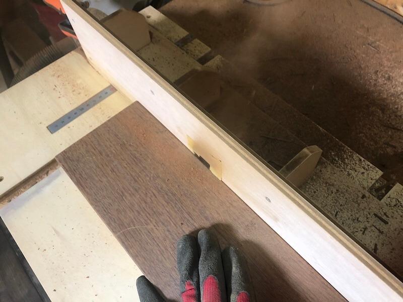 木製プランターDIY 切削6
