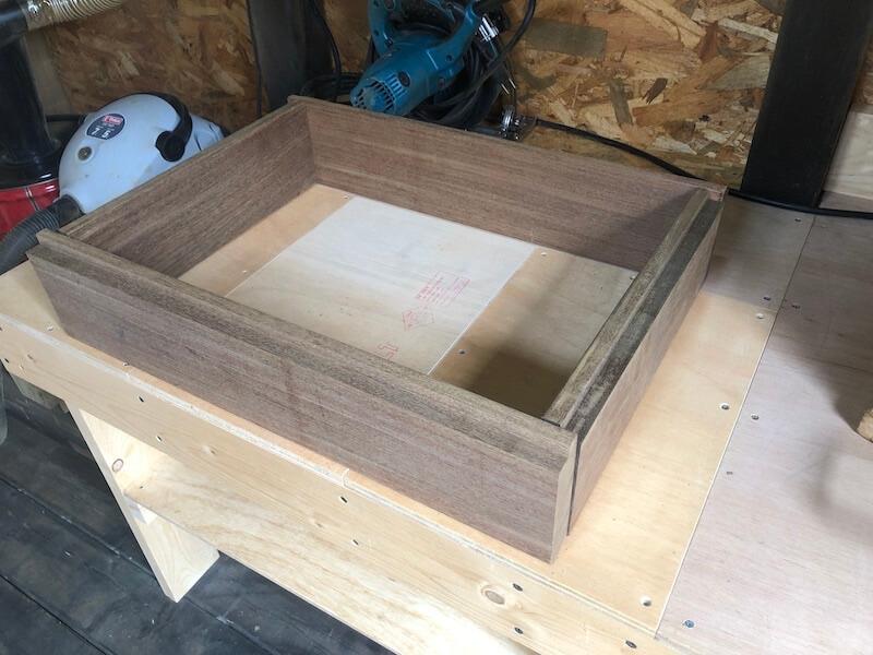木製プランターDIY 枠組立1