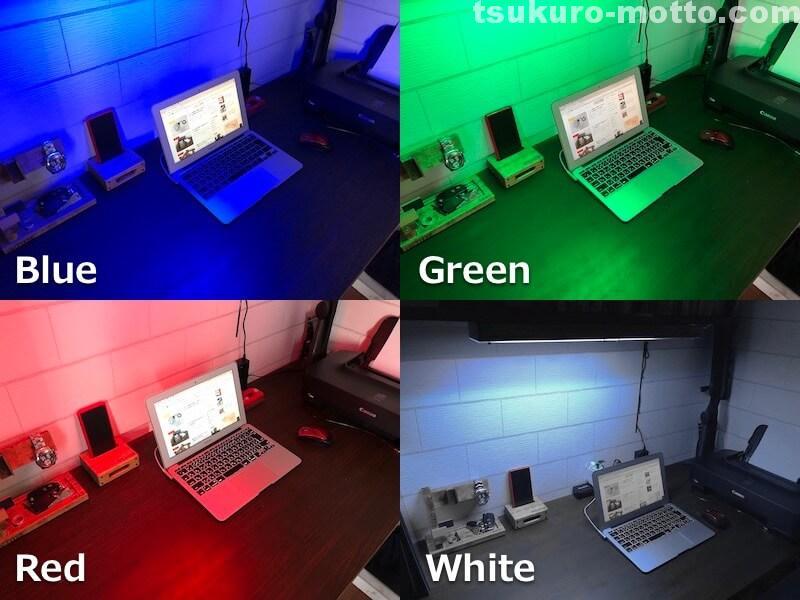 LEDデスクライトDIY 完成2