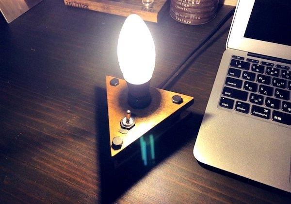 LEDビンテージスタンドライト