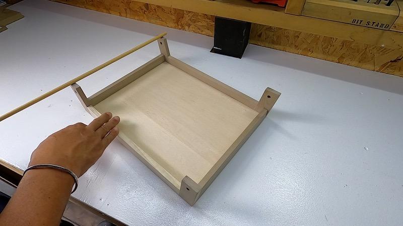 ローテーブル&トレーDIY 製作32