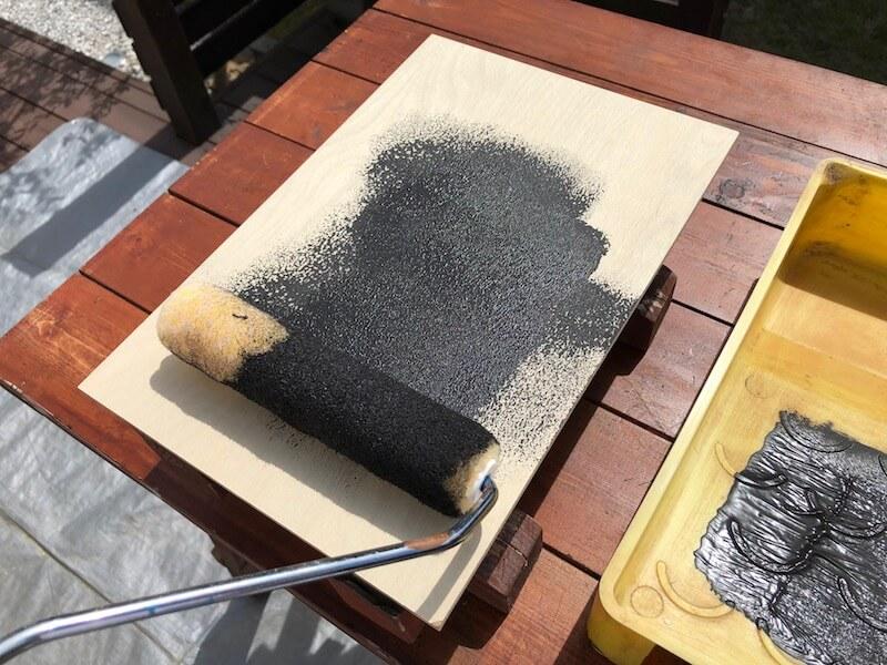 マグネットサインボードDIY  マグネット塗装
