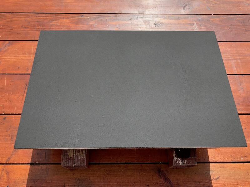 マグネットサインボードDIY  マグネット塗装2