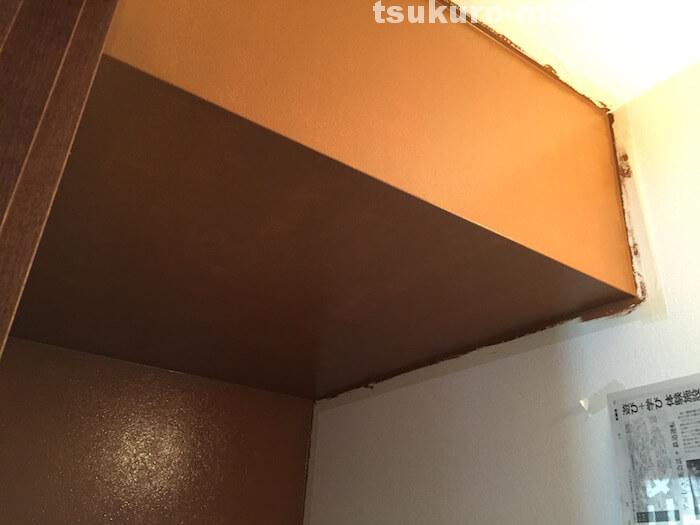 マスキングテープで壁塗り2