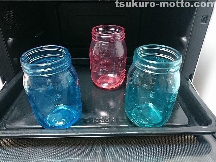 ガラスビンの乾燥3