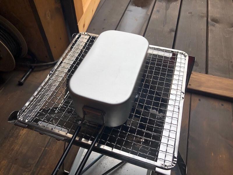 アルミ飯盒 メスティンの紹介8