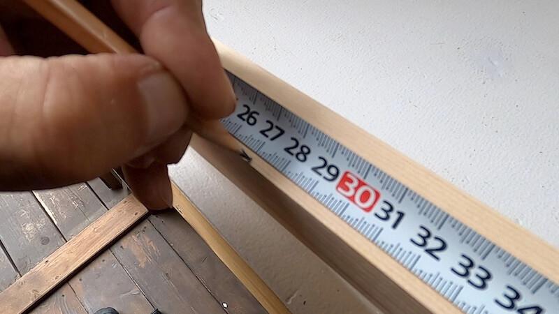 サイドテーブルDIY製作7
