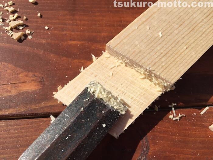 スライド丸ノコでの相欠き接ぎ加工のやり方5