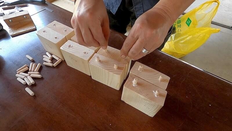 男前学習机をDIY 材料 部材加工10