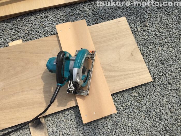 外水道リメイクDIY 木枠製作3