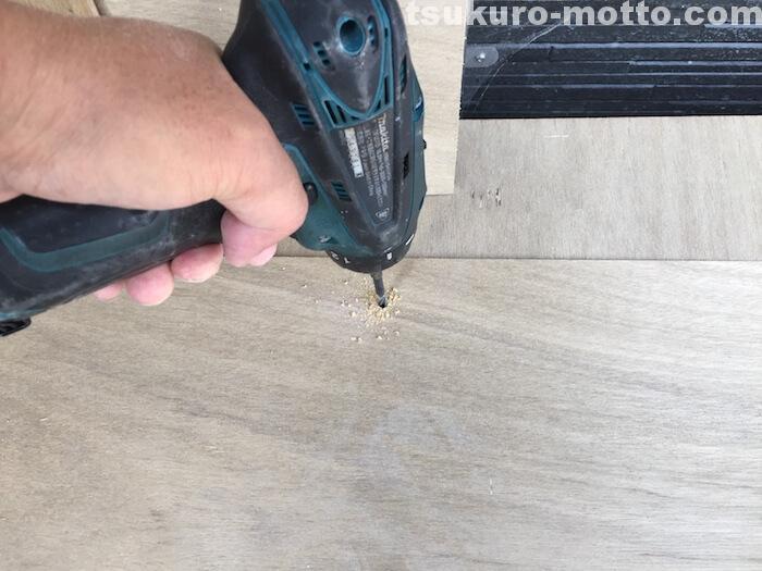 外水道リメイクDIY 木枠製作6