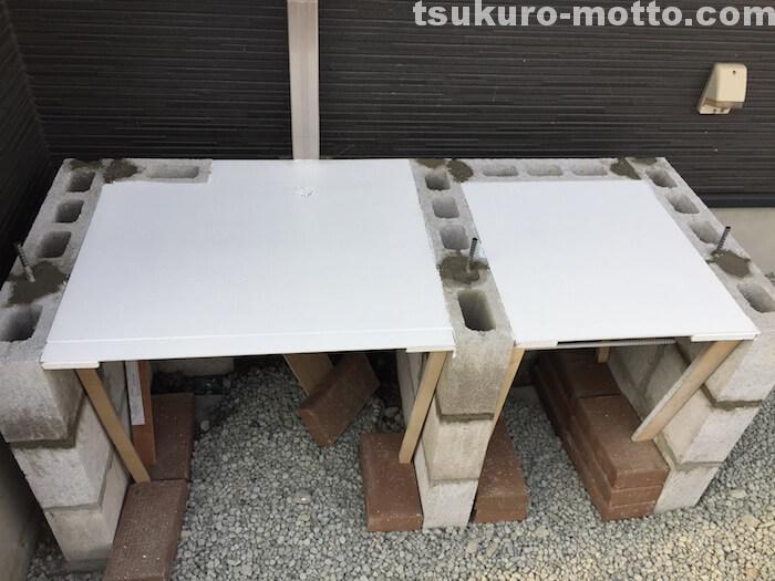 外水道リメイクDIY 木枠製作10