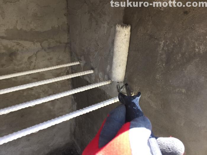 外水道リメイクDIY 撥水剤塗装3