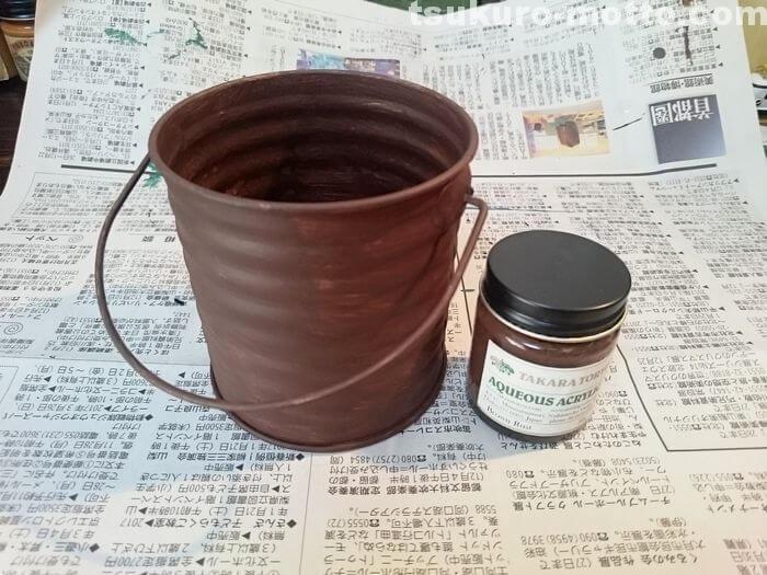 全面錆塗装の工程2