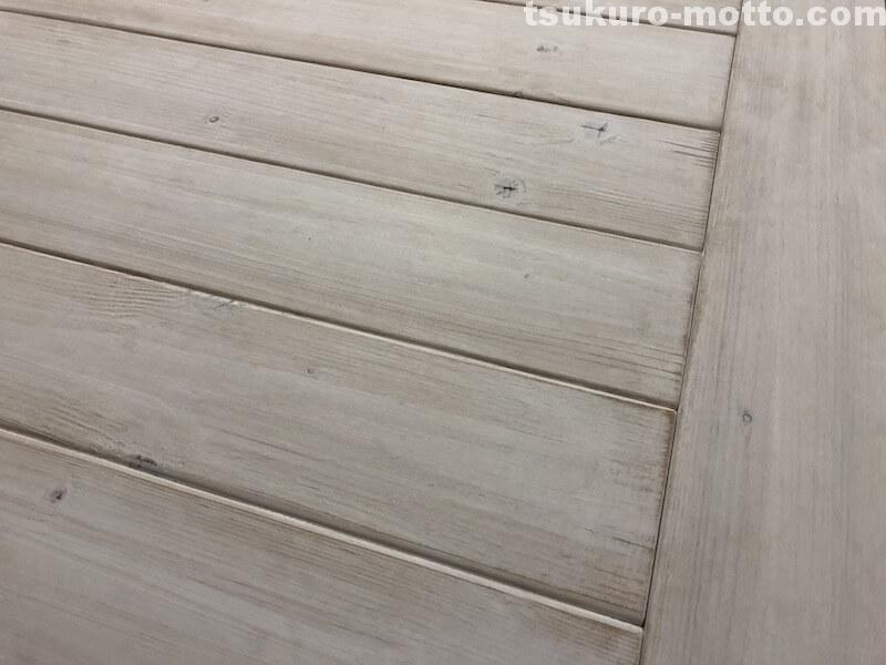 シャビーダイニングテーブルDIY 塗装10