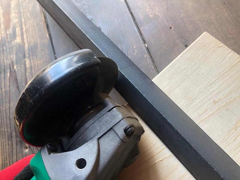 ソロバーベキューコンロDIY 折曲げ工具製作1
