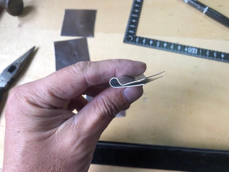 ソロバーベキューコンロDIY コンロ本体の製作20
