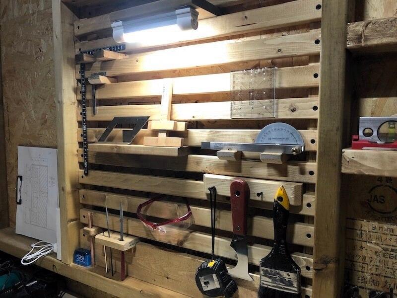 DIY工房 工具収納A