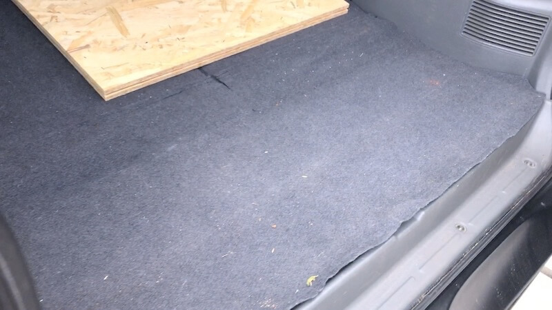 トランク中敷きリメイク01