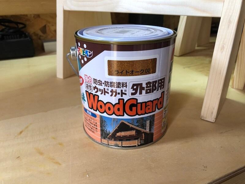 作業ウマDIY 塗装1
