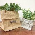 【100均DIY】包装紙で可愛い鉢カバーを作ろう!
